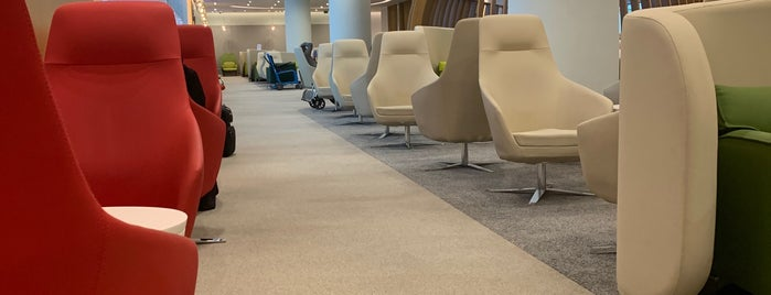Skyteam Lounge is one of Posti che sono piaciuti a Samah.