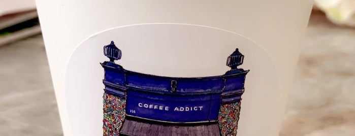Coffee Addict is one of لندن (حلويات وكافيهات).