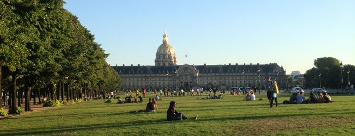 Esplanade des Invalides is one of Paris.