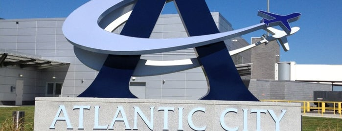Atlantic City International Airport (ACY) is one of Aeroporto.