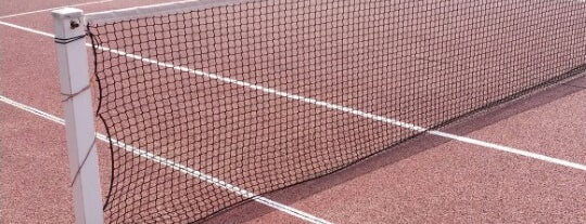 """Tennis Suzanne Lenglen is one of Le parcours """"Pass Jeunes""""."""