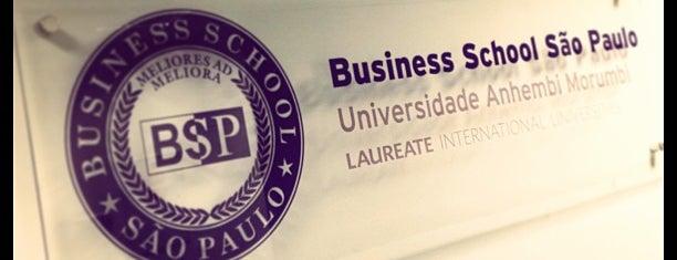 BSP - Business School São Paulo is one of Tempat yang Disukai Isa.