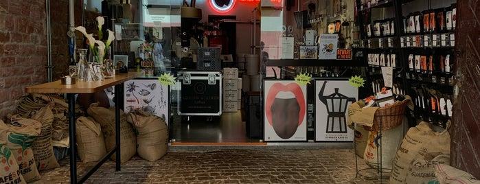 Florian Steiner Kaffeerösterei is one of Europe specialty coffee shops & roasteries.