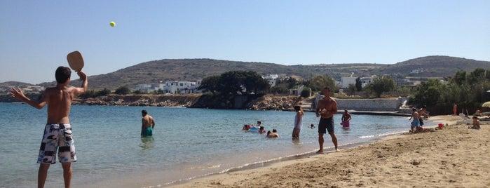 Ampelas Beach is one of Paros island.
