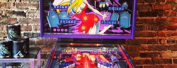 Kickback Pinball Cafe is one of Pinball Destinations.