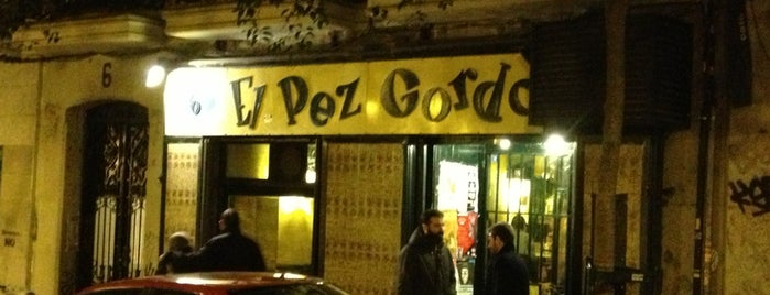 El Pez Gordo is one of Rincones X Madrid.
