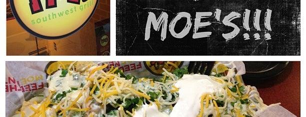 Moe's Southwest Grill is one of Lugares favoritos de Thomas.