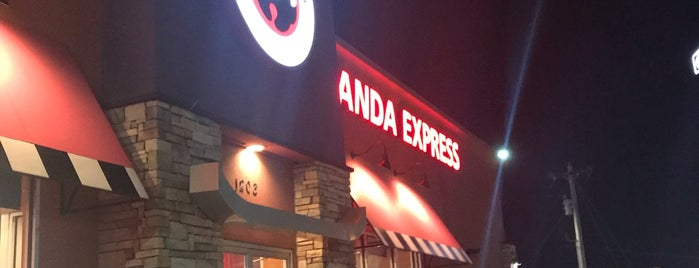 Panda Express is one of Tempat yang Disukai Matt.