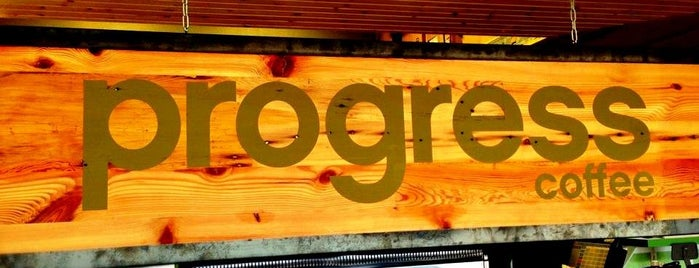 Progress Coffee is one of Austin.