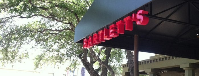 Bartlett's is one of Austin Restaurants to Try.