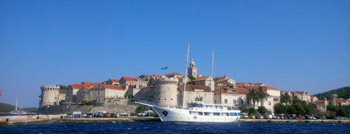 Korcula Port is one of Lugares favoritos de Angels.