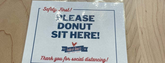 Federal Donuts is one of Philly 2021.