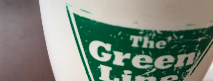 Green Line Cafe is one of Try These Places. .........