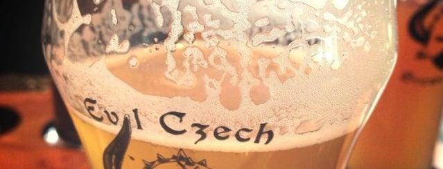 Evil Czech Brewery and Public House is one of Posti che sono piaciuti a Trish.
