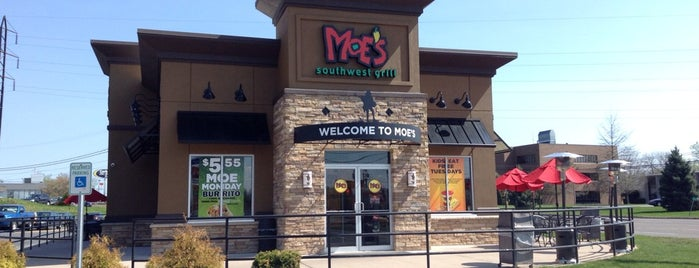Moe's Southwest Grill is one of Rome, NY.