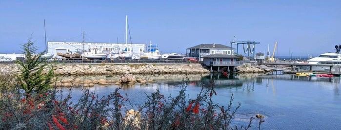 Breakwater Beach is one of HWY1: Santa Cruz to Monterey/Carmel.