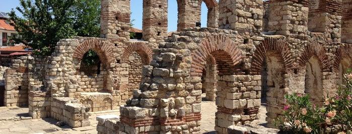 Стария Несебър is one of UNESCO World Heritage Sites in Eastern Europe.