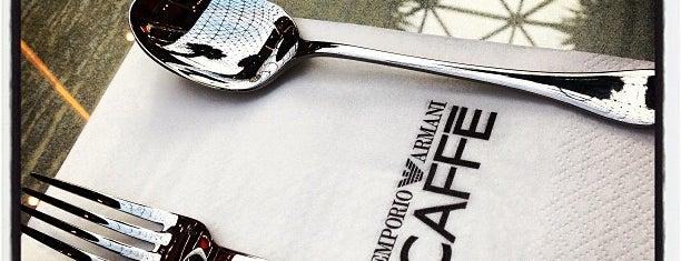 EMPORIO ARMANI CAFFÉ is one of GCC Must visit.