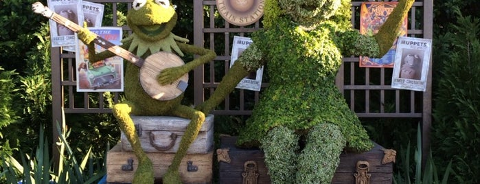 Epcot International Flower & Garden Festival 2014 is one of Posti salvati di Jeighsen.