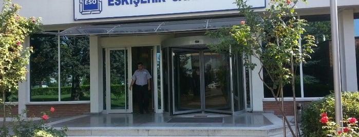 Eskişehir Sanayi Odası is one of Eskişehir'deki Meslek Odaları.