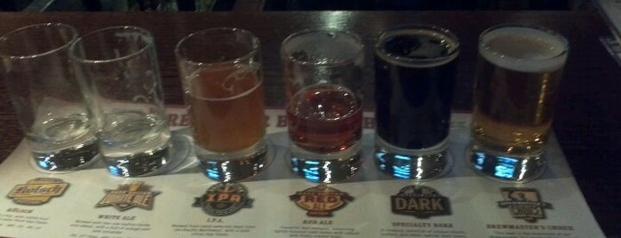 Rock Bottom Restaurant & Brewery is one of The Beer Lists You're After.