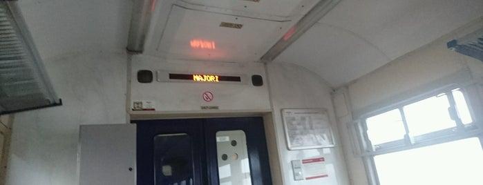 Vilciens | Dubulti -Rīga is one of Tempat yang Disukai Денис.
