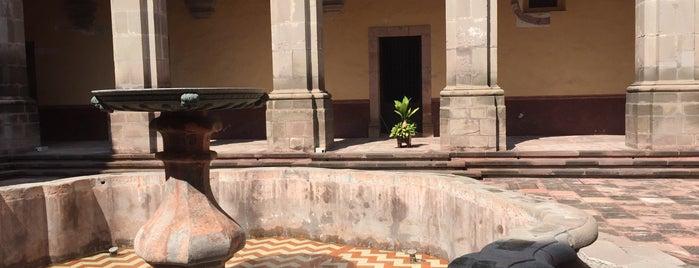 Real Colegio de Santa Rosa de Viterbo is one of Queretaro San Miguel.