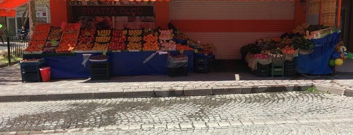Çamlik Market is one of Göktürk.