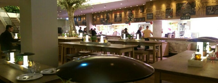 Vapiano is one of Restaurants/Cafe´s mit WLAN.