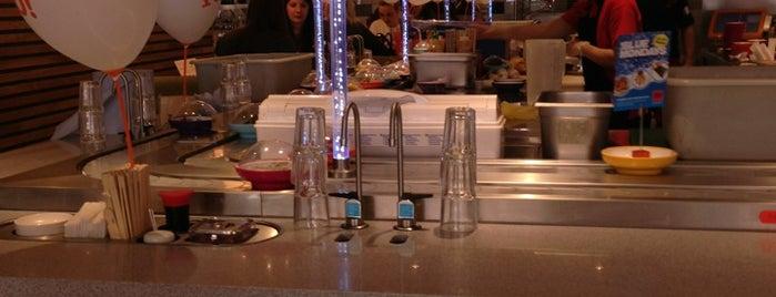 YO! Sushi is one of Tempat yang Disukai Tone.
