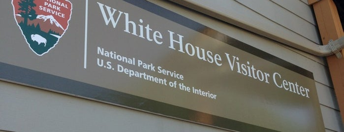 "White House Visitor Center is one of ""Hail, Columbia, happy land...""."