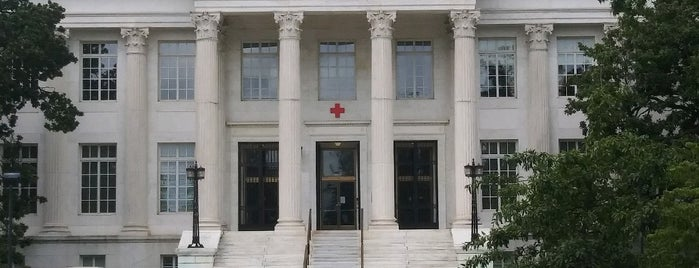 American Red Cross National Headquarters is one of Lieux sauvegardés par PenSieve.