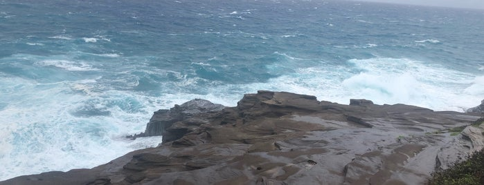 Spitting Caves is one of Oahu To Do List.