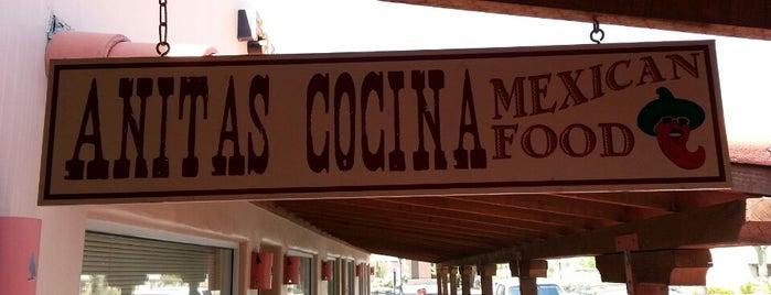 Anita's Cocina is one of Tempat yang Disukai JL Johnson.
