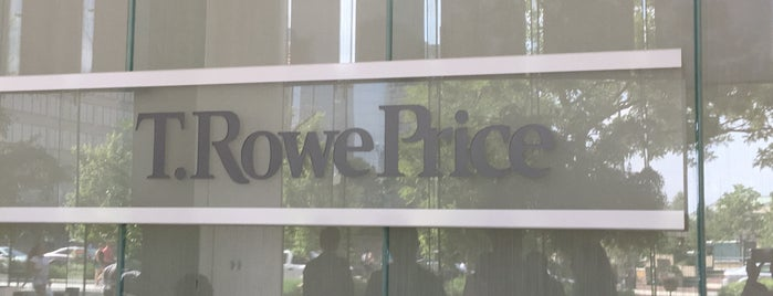 T. Rowe Price is one of Locais curtidos por Christopher.