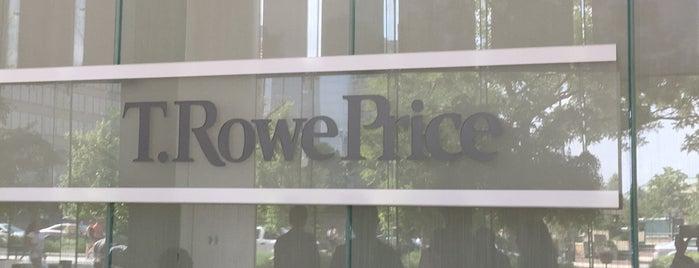 T. Rowe Price is one of สถานที่ที่ Christopher ถูกใจ.