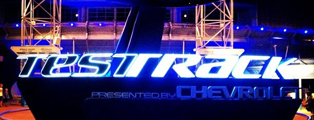 Test Track Presented by Chevrolet is one of Next Trip To Disney.