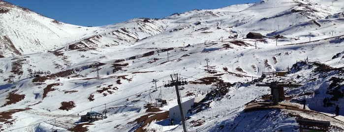 Valle Nevado is one of Santiago, Chile.