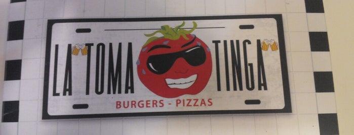 La Tomatinga is one of Burgers..