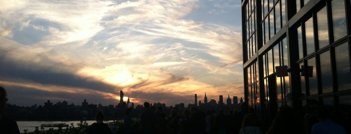 The Ides at Wythe Hotel is one of rooftop/outdoor drinking..