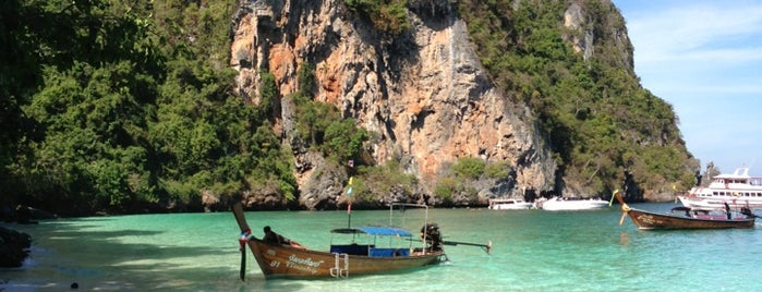 Phi Phi Islands is one of Lieux qui ont plu à Anastasia.