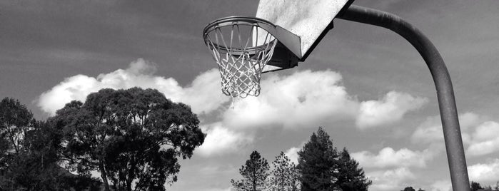 Basketball Courts at Corte Madera Town Park is one of Must visit parks in Marin.