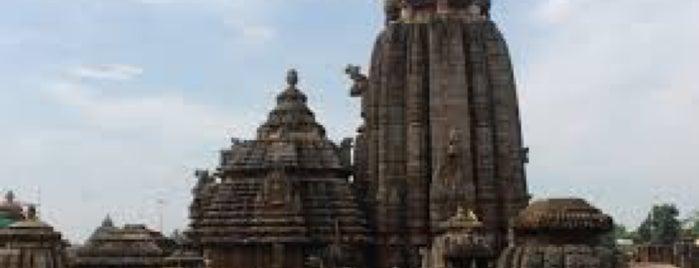 Lingaraj Temple is one of India: Odisha.
