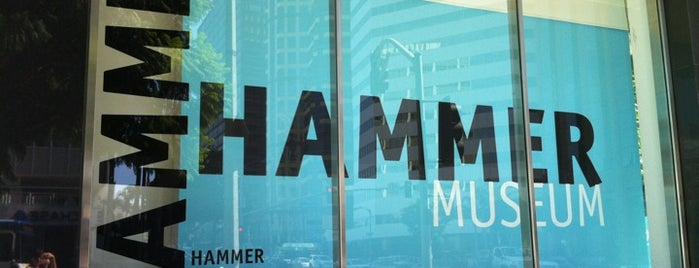 Hammer Museum is one of #myhints4LosAngeles.