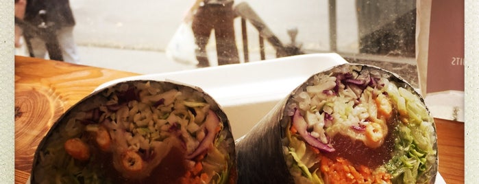 Rawl Sushi Burrito is one of Try Soon.