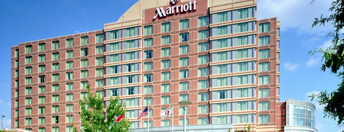 Nashville Marriott at Vanderbilt University is one of Orte, die David gefallen.