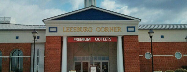 Leesburg Premium Outlets is one of Washington D.C..
