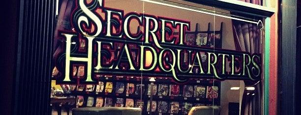 Secret Headquarters is one of Los Angeles.