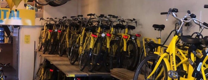 Yellow Bike Tours & Rental is one of AMS.