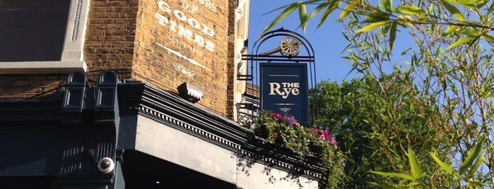 The Rye is one of BarChick's Bars with Benefits.